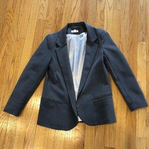 Women's gray blazer